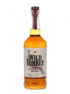 Wild Turkey Whiskey label by Julie Rhodes