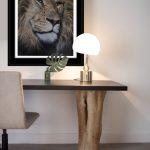 lion artwork original painting realism by Julie Rhodes